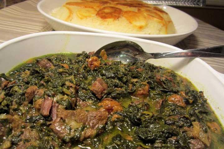 طرز تهیه خورش اسپناساک؛ طعمی بینظیر از مازندران