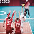 حالتهای صعود والیبال ایران به دور حذفی المپیک
