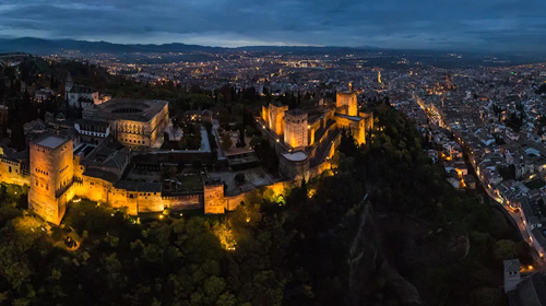 دنیا در یک کلیک: کاخ الحمرا در اسپانیا