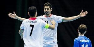 جام جهانی فوتسال ،ایران 3- صربستان 2
