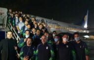 تیم ملی المپیک ایران به تاجیکستان رسید